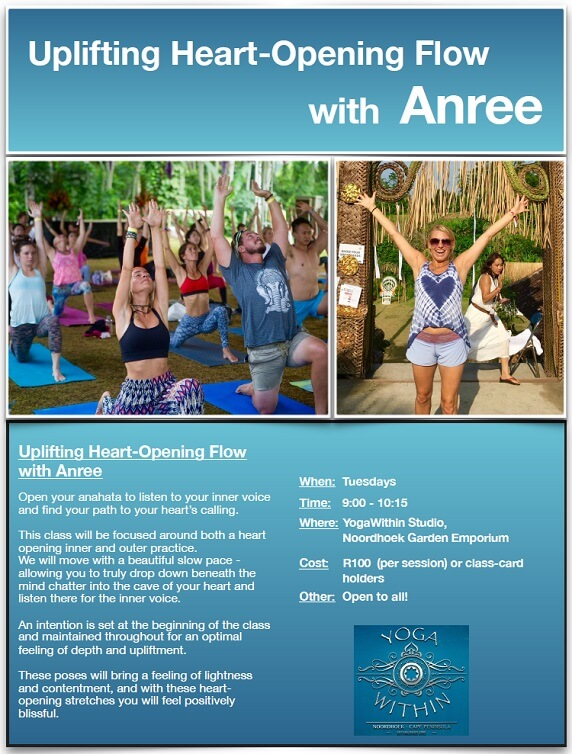 Heart opener with Anree -July 2017