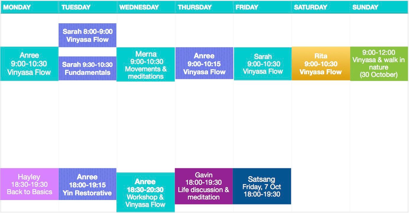 oct-class-schedule