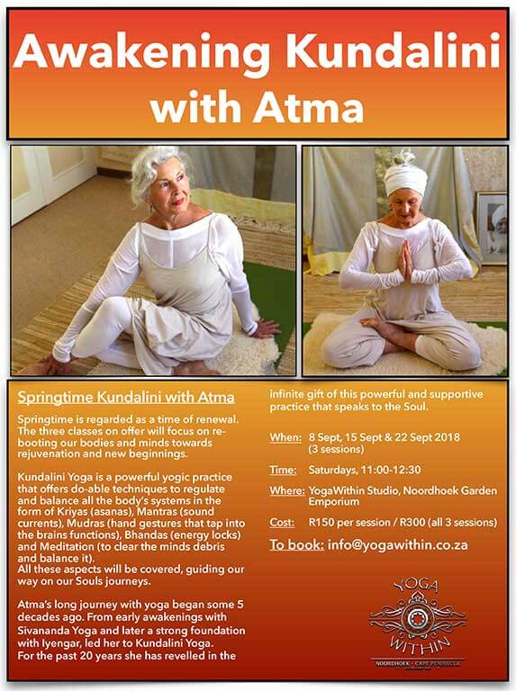 Kundalini With Atma - September 2018