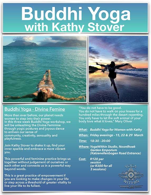 Buddhi Yoga with Kathy - March 2019