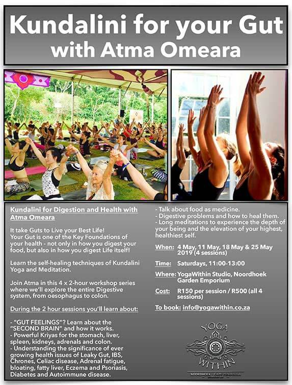 Kundalini for Gut with Atma - May 2019