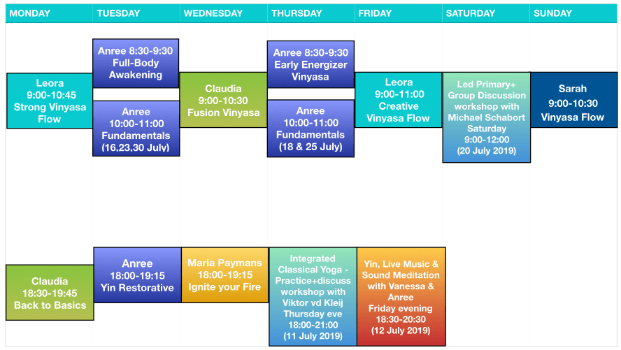 Workshop with Viktor - July 2019