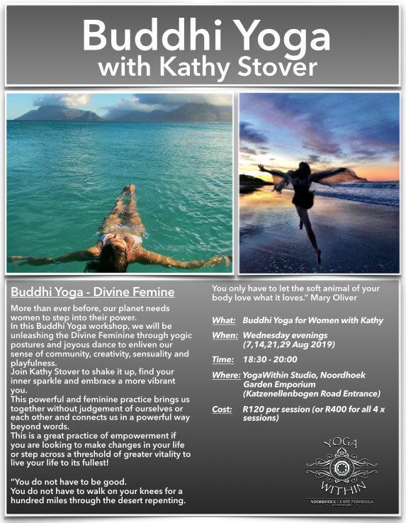 Buddhi Yoga with Kathy - August 2019