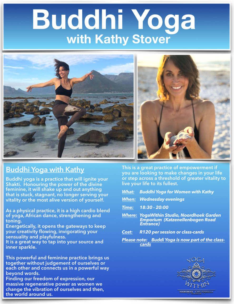 Buddhi Yoga with Kathy - Sept 2019
