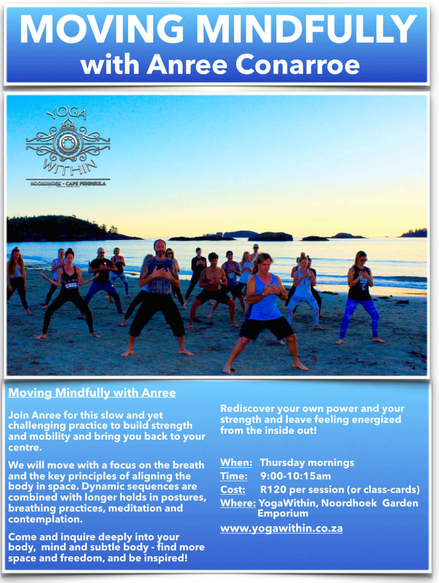 Moving Mindfully with Anree - Sept 2019