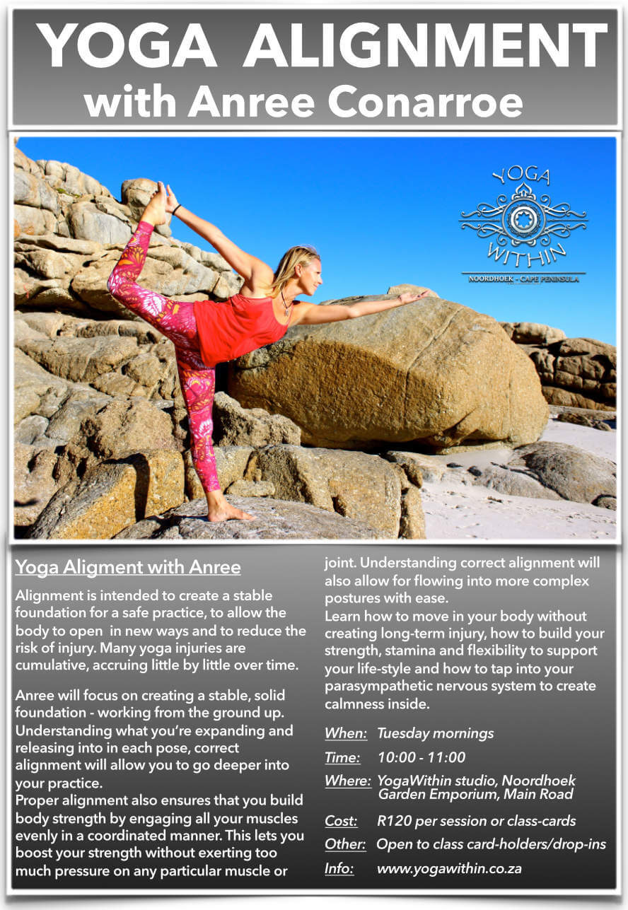 Yoga Alignment with Anree - Sept 2019