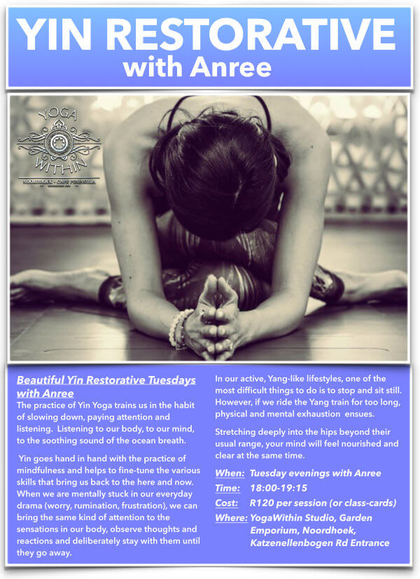 Yin Restorative with- Anree - September 2020