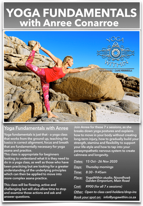 Yoga Fundamentals with Anree - Oct 2020